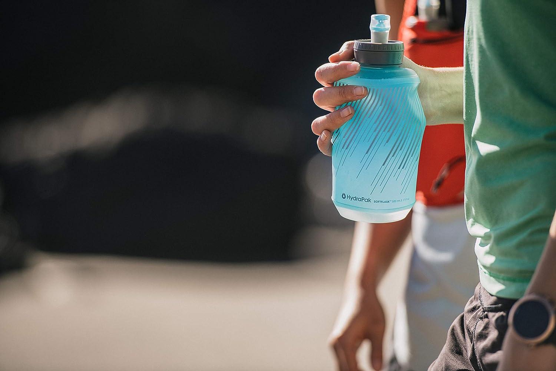 Malibu Blue 500ml SOFTFLASK 500 Hydrapak SF500 Handheld Hydration Flask
