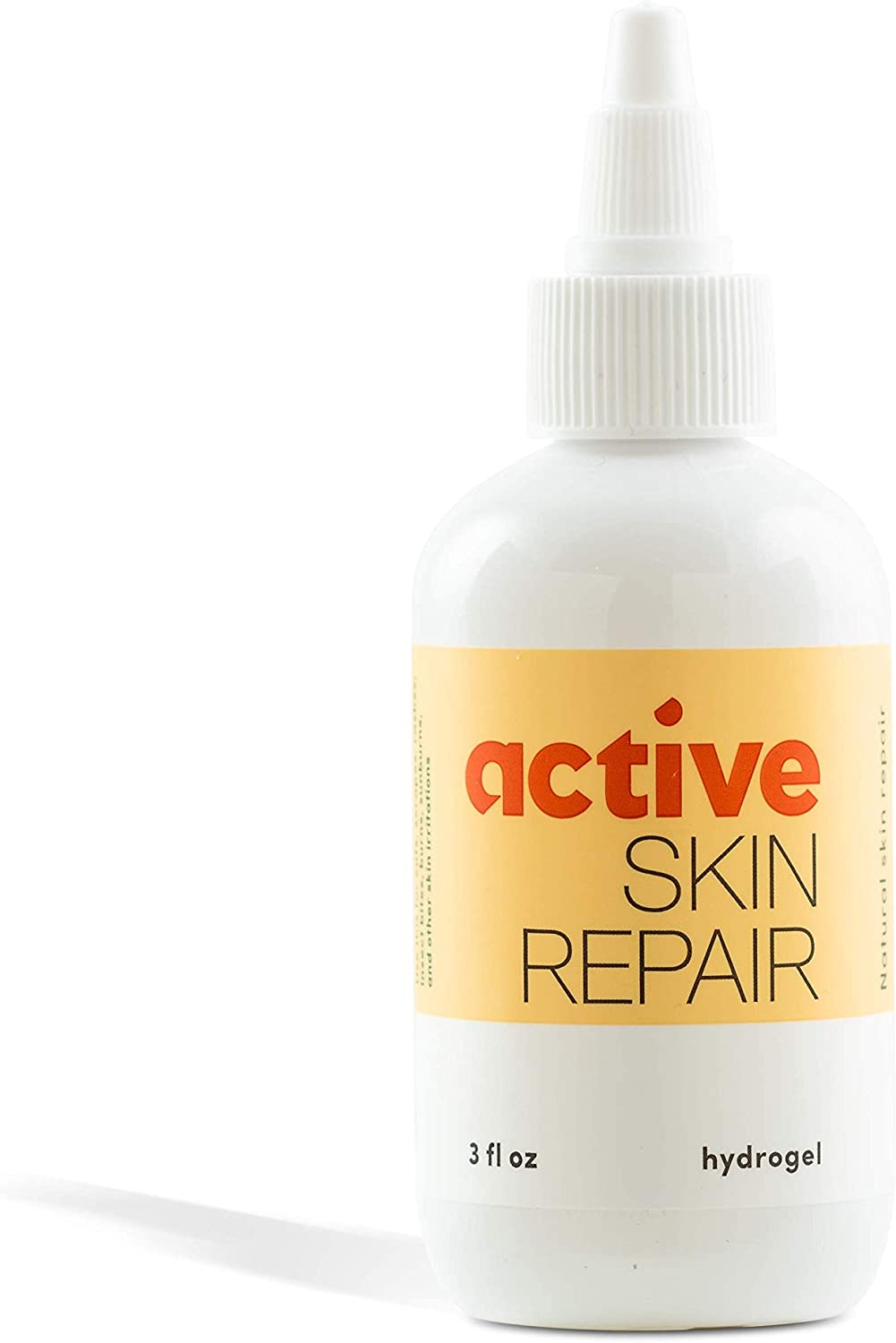 Active Skin Repair Hydrogel – The Natural & Non-Toxic Healing Ointment & Antiseptic Hydrogel for Minor cuts, scrapes, rashes, sunburns and Other Skin irritations (Single, Hydrogel)