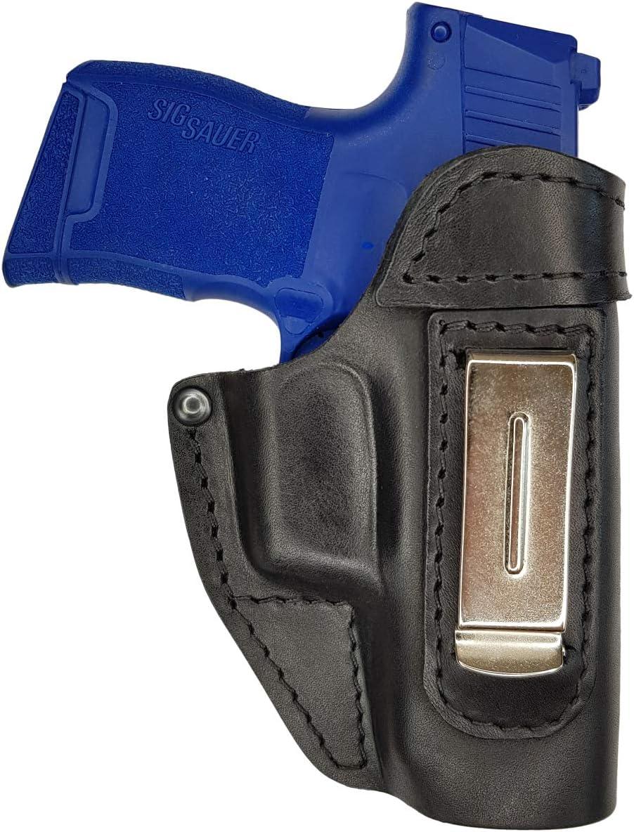 VlaMiTex IWB 2 Funda de Pistola para cinturón, de Piel, para Sig Sauer P365