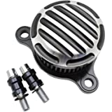 CNC Finned Air Cleaner Intake Filter Kit For Harley Sportster XL 883 1200 Forty Eight Iron 883 Seventy Two 2004-2016
