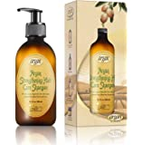 Hair Strengthening Argan Shampoo - Exclusive Herbal Oils Blend - Daily Moroccan Sulfate & Paraben Free Shampoo 10.1 oz to Strengthen & Promote Healthy Growth