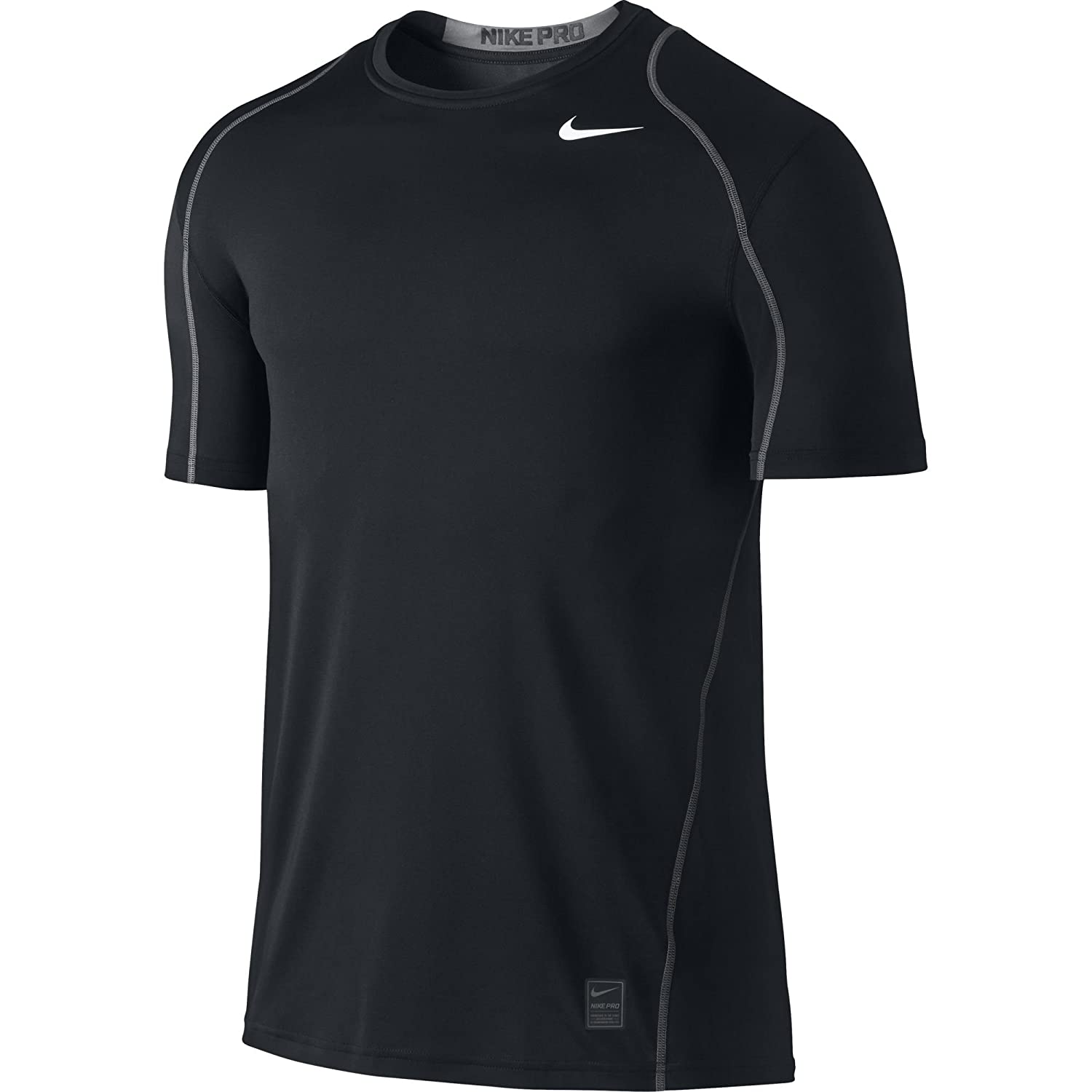 NIKE Men's Pro Fitted Short Sleeve Shirt