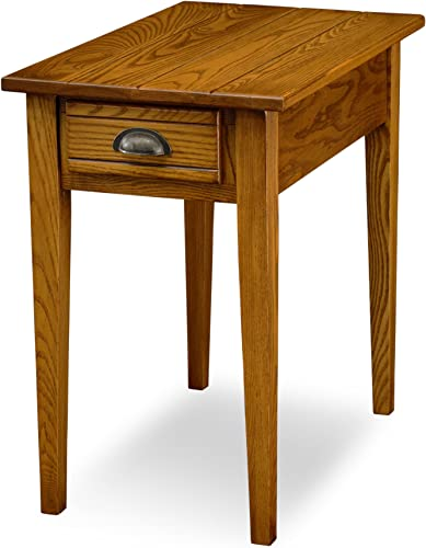 Leick Bin Pull Chair Side End Table,-Candle Glow