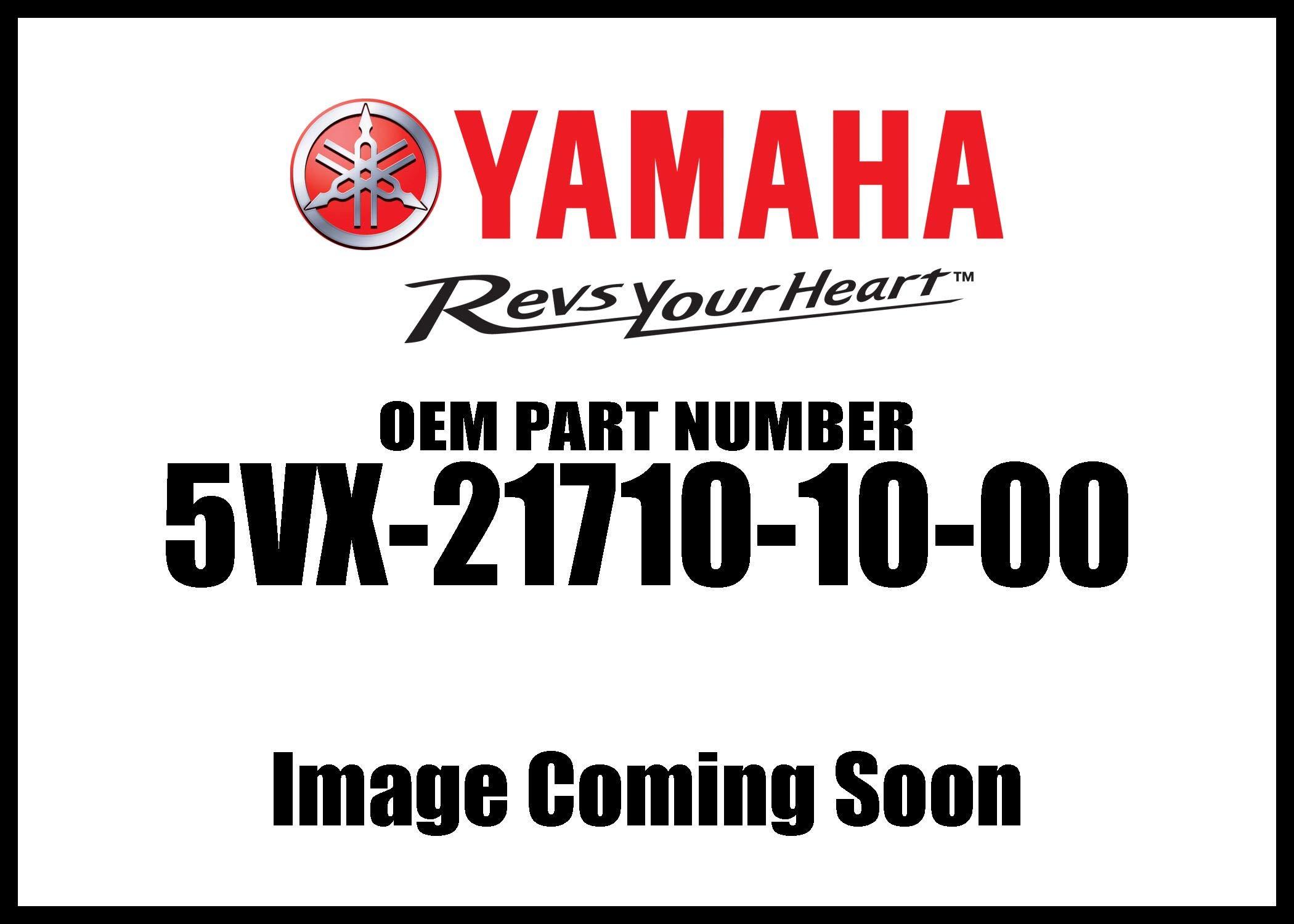 Yamaha 5VX217101000 Side Cover Assembly