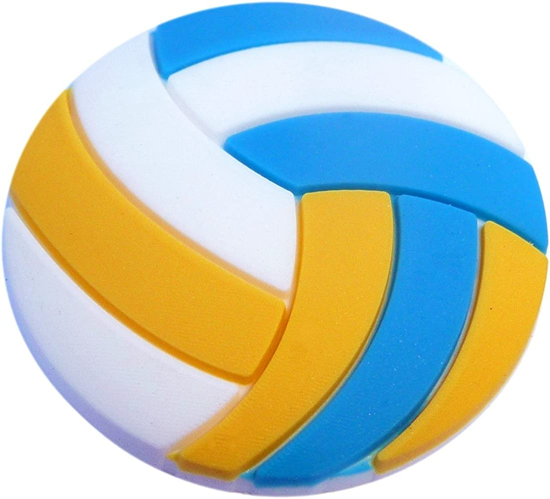 Amazon.com: Volleyball Rubber Charm for