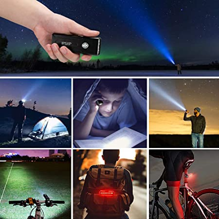 USB Rechargeable LED Bicycle Front Headlight High IPSXP 1000 Lumens Bike Light