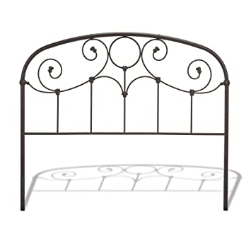 Amazon Com Fashion Bed Group Grafton Metal Headboard Panel With