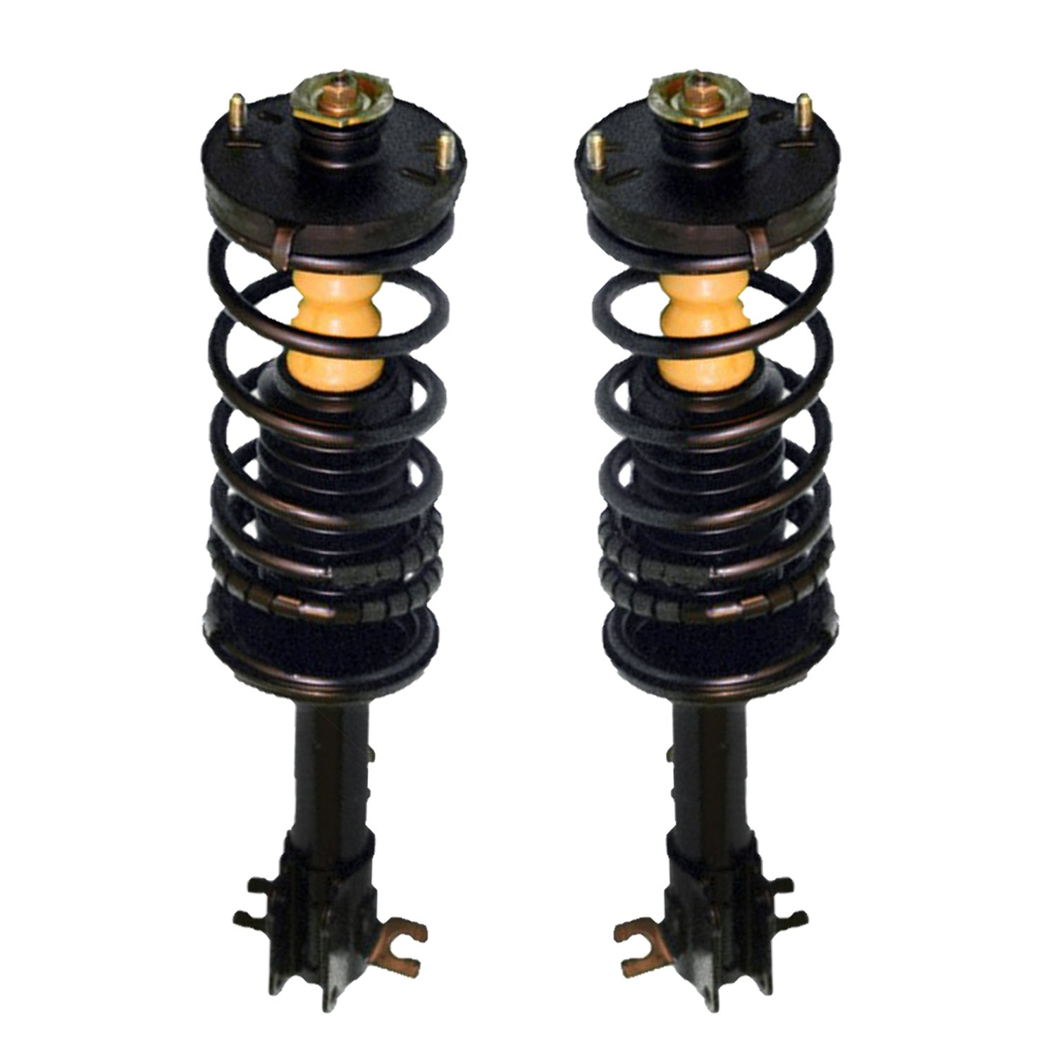 Unity Automotive 2-15200-001 Quick Complete Rear Pair, Spring, and Strut Mount Assembly Kit