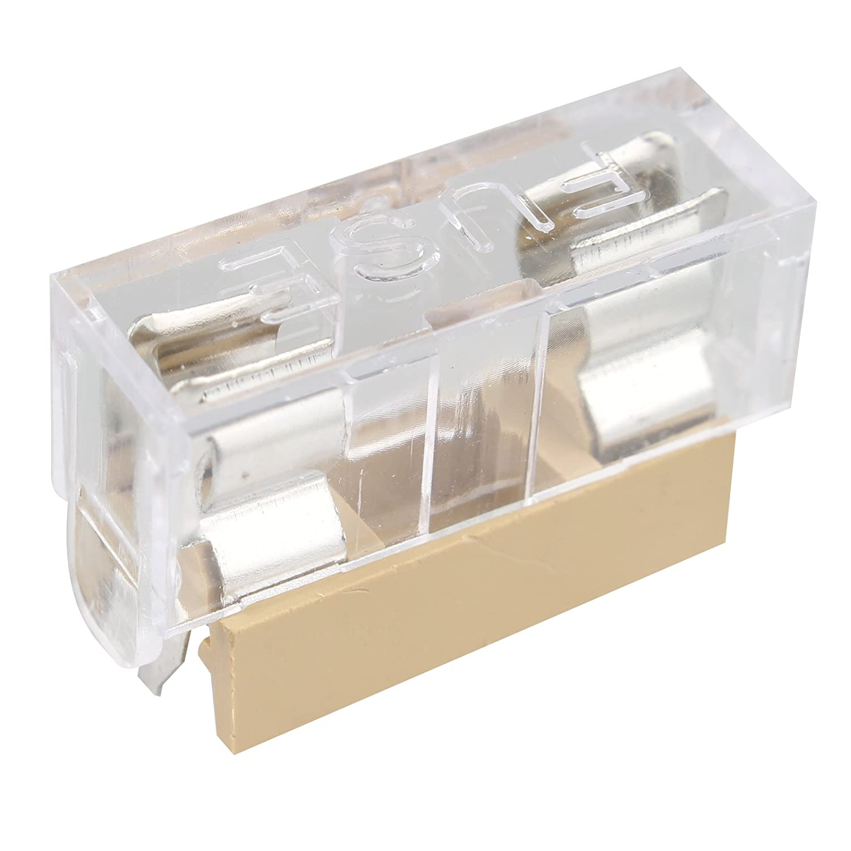 10 portafusibles de PCB con cubierta de panel para fusible de 5 x 20 mm Por HALJIA 250 V y 6A