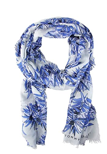 ALLOVER FLOWERS PRINT SCARF