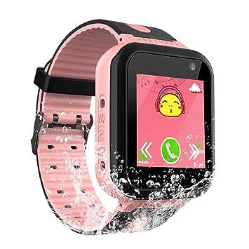 Reloj Inteligente Impermeable para niños - IP67 Reloj Inteligente Impermeable para niños con GPS/LBS