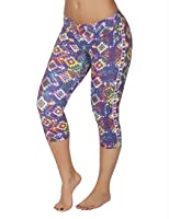 Protokolo 2736-1 Sports Yoga Capri Pants