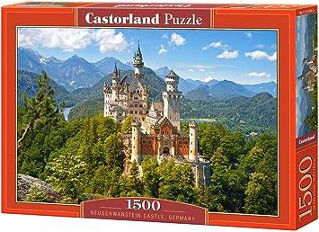 Castorland Neuschwanstein Castle, Germany Puzzle (1500 Piece)