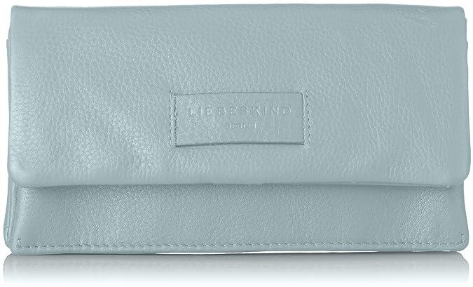 Liebeskind Berlin - Essential Slam Wallet Large, Carteras Mujer, Azul (Light Blue Mist), 2x10x19 cm (B x H T): Amazon.es: Zapatos y complementos