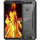 Rugged phone, Blackview BV5500 Pro rugged smartphone, android 9.0 dual sim rugged unlocked cell phones, IP68 waterproof smart