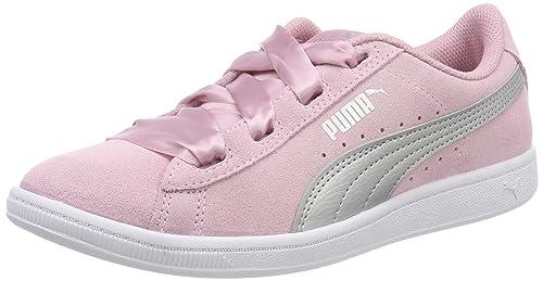 PUMA Vikky Ribbon Jr, Zapatillas para Niñas: Amazon.es: Zapatos y ...