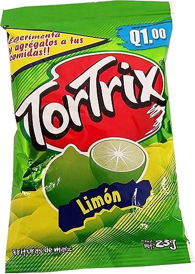 amazon com tortrix lemon 0 88 oz pack of 12 limon pack of 6 rh amazon com