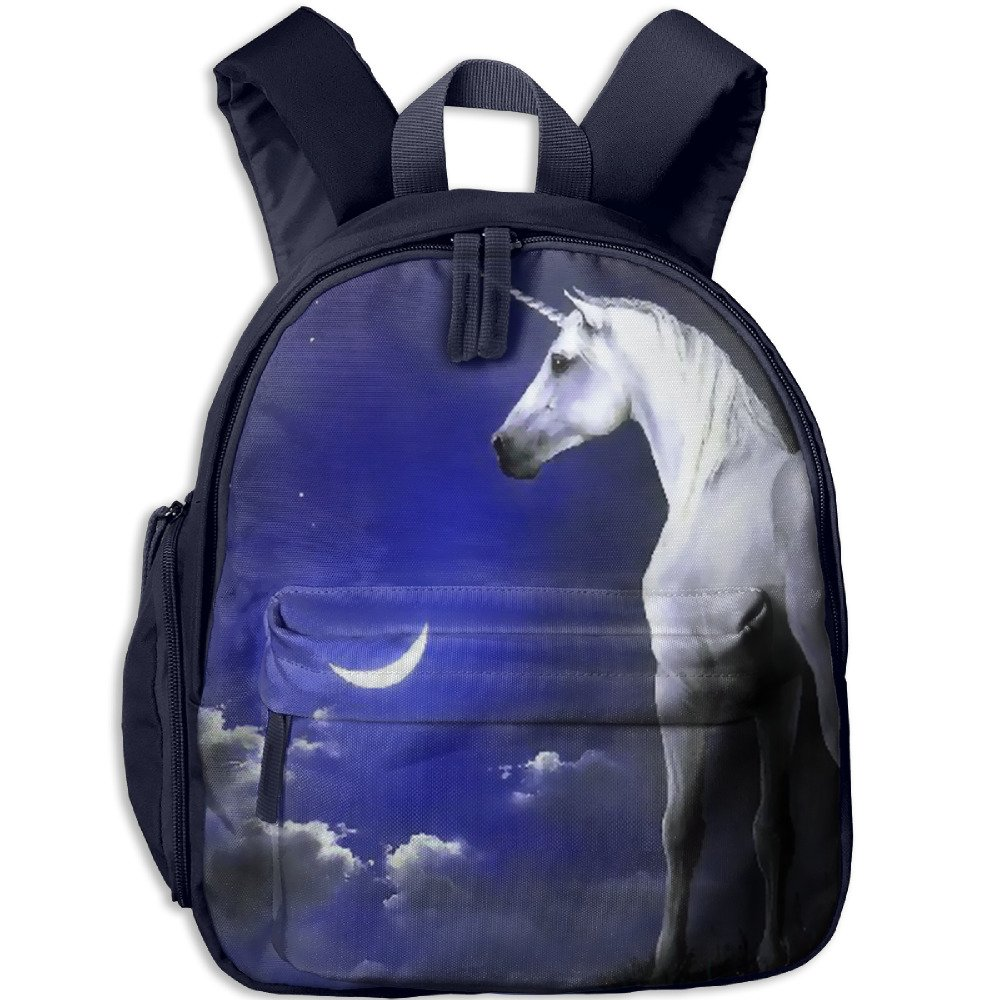 Unicorn Horse Classic School Backpack Bookbag Schoolbag For Kids by SJBETBBdfsf