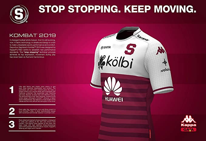 Amazon.com : Saprissa - Home and Away Traditional Costa Rica Team Soccer Jersey - 2019 Kappa Original Men and Youth Equipment : Sports & Outdoors