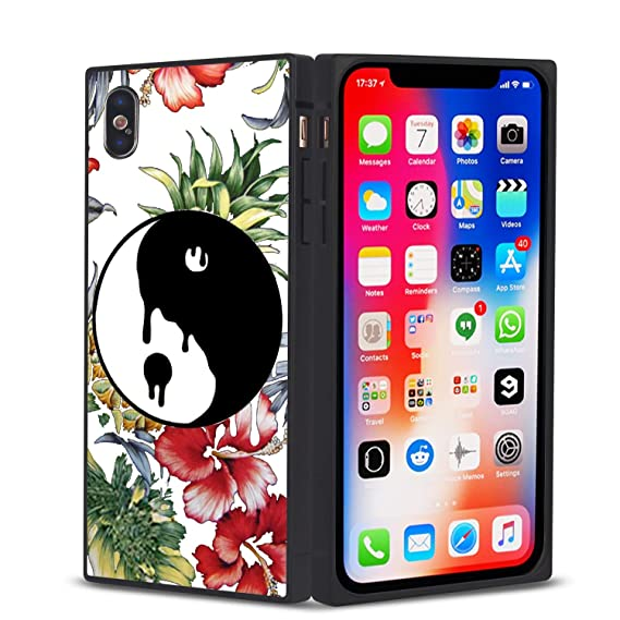 Yin Yang Floral iphone case