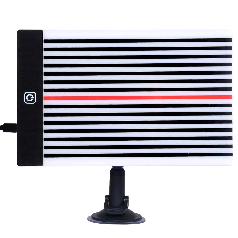 Fansport Strumenti Riflettore Stripe Line Board per Auto Riflettore Linea Board Pieghevole Catarifrangente Riflettore della Luce Riflettore dai Danni Provocati dal Grandine