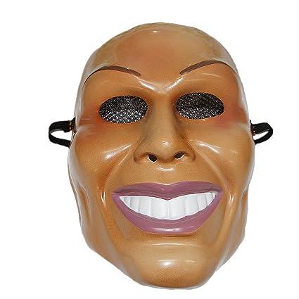 """The Rubber Plantation TM The Purge"""" Maske, lächelnder Mann, Halloween-Kostüm für Erwachsene, Unisex, Einheitsgröße, 619219292"""