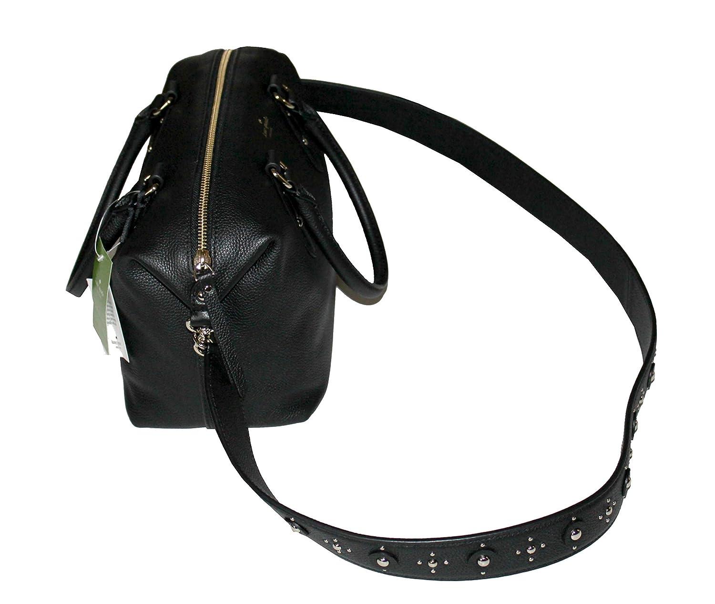 2a8c745d8f68 Kate Spade Mini Layla Larchmont Avenue Studded Women s Leather Satchel  Handbag  Amazon.co.uk  Shoes   Bags
