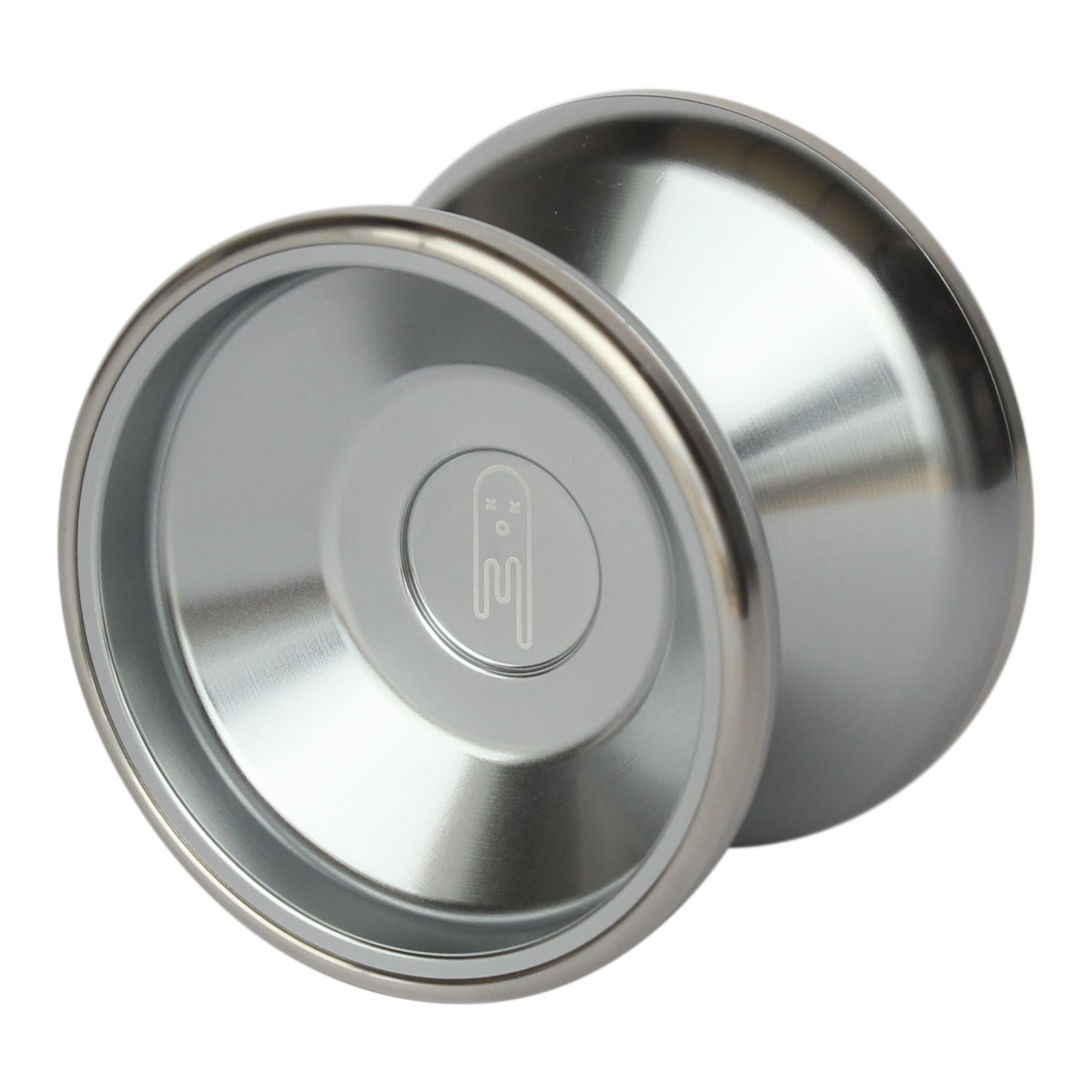 Yoyo King Ghost Bimetal Aluminum and Steel Professional Yoyo with Ball Bearing Axle and Extra String