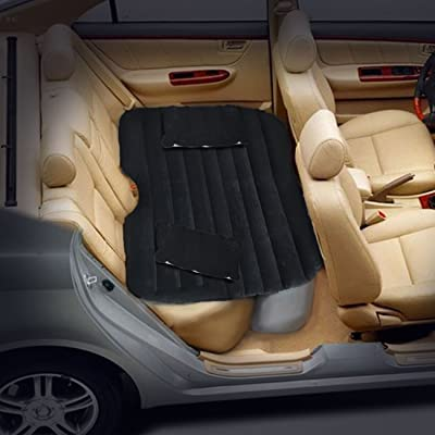 Car Inflation Bed, Multifunctional Air Bed, Extra Thick Travel Air Mattress, Back Seat Extended Mattress