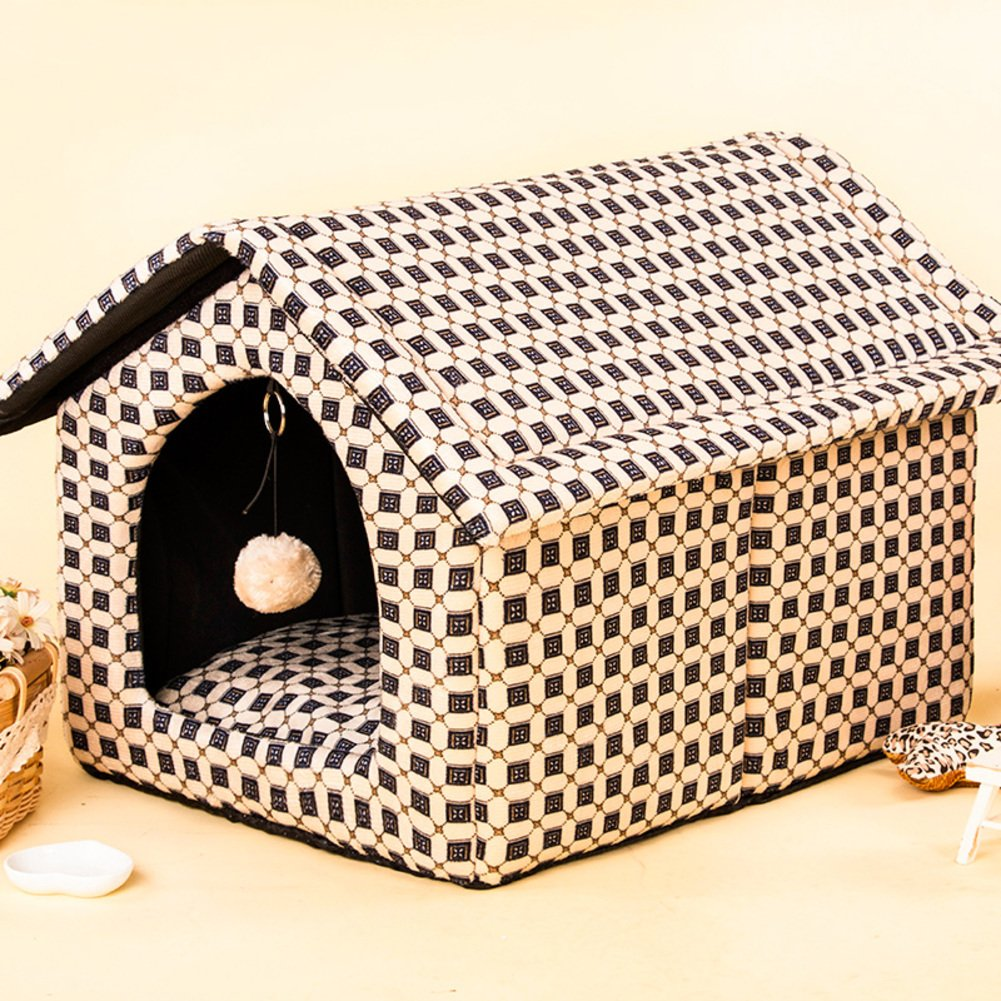 38x30cm(15x12inch) washable dog Dog house in summer and autumn small pet-C 38x30cm(15x12inch)
