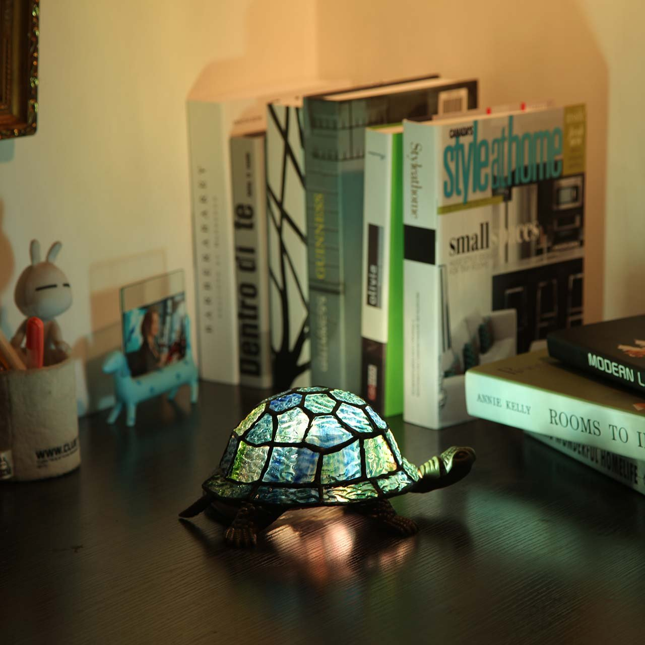 tortoise lighting. Bieye L10592 9-inches Turtle Tiffany Style Stained Glass Accent Table Lamp - Amazon.com Tortoise Lighting