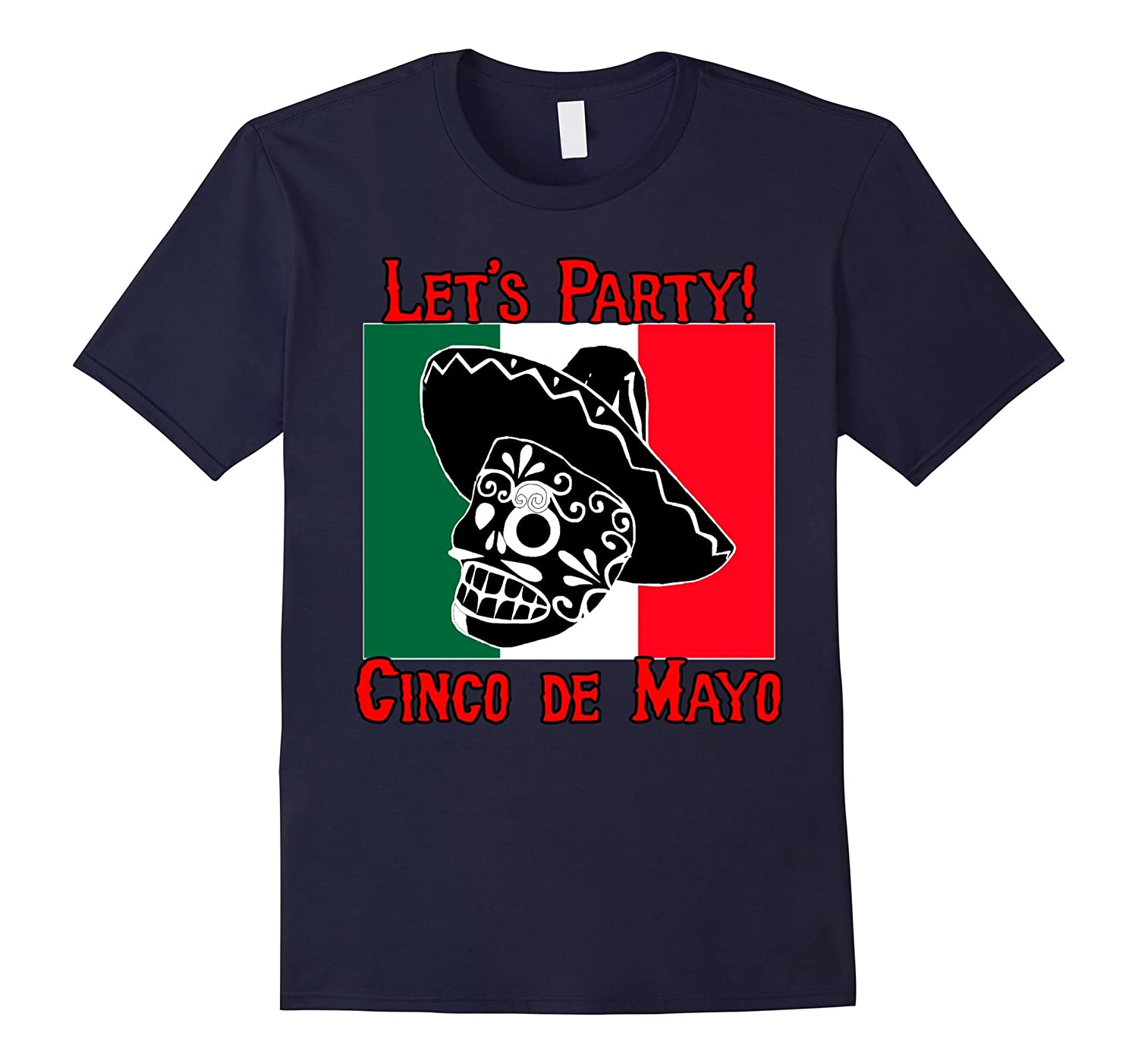 Cinco De Mayo Party T-shirt by Scarebaby-TH
