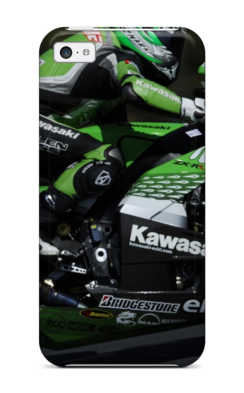 Nuevo estilo Tpu 5 C funda/iphone caso - Kawasaki Ninja zxand salvapantallas: Amazon.es: Electrónica