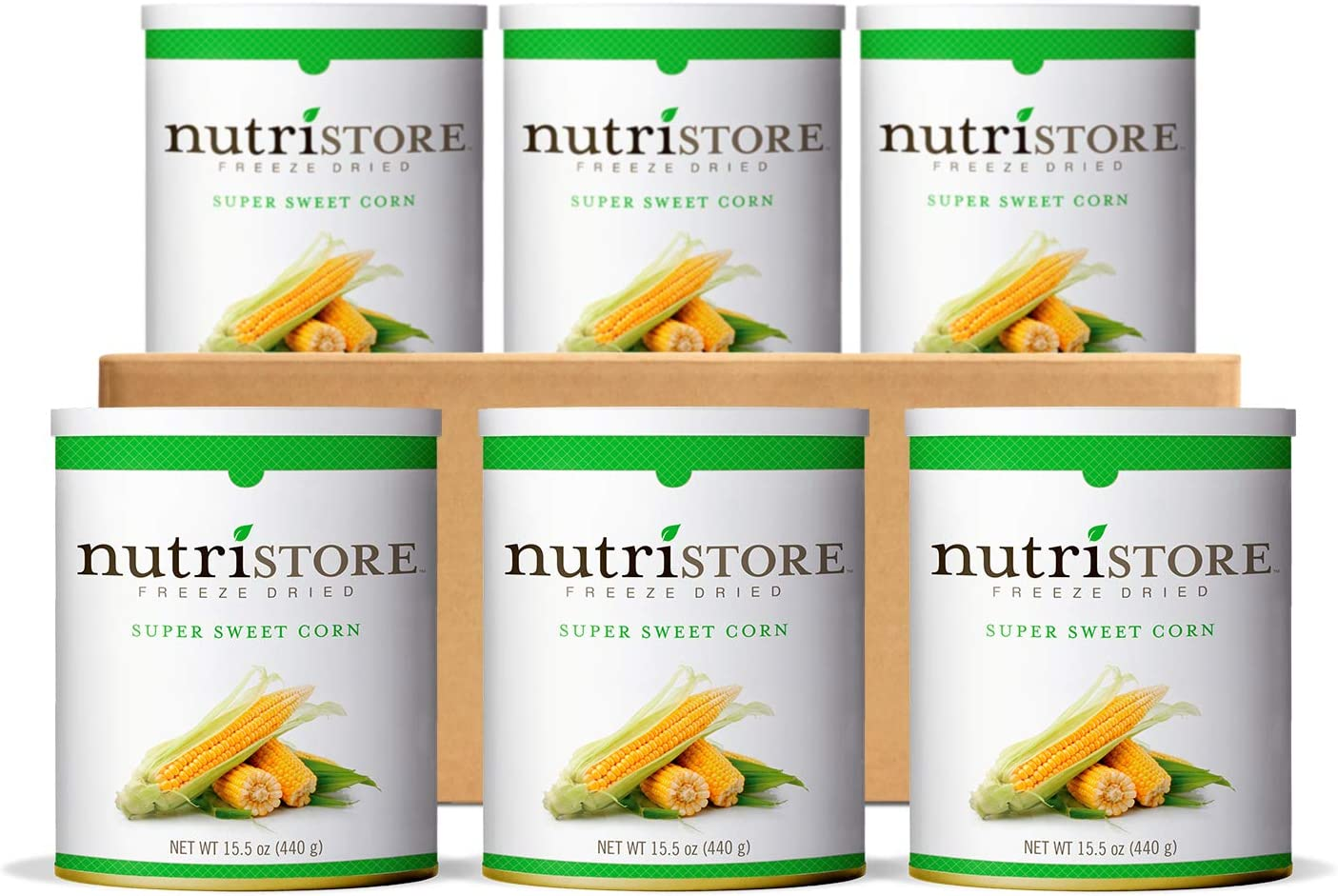 Nutristore Premium Freeze Dried Fruits and Veggies   Healthy Snacks   Great Tasting   Perfect for Camping, Emergency, Survival or Everyday Food Supply   Case Packs   Made in USA