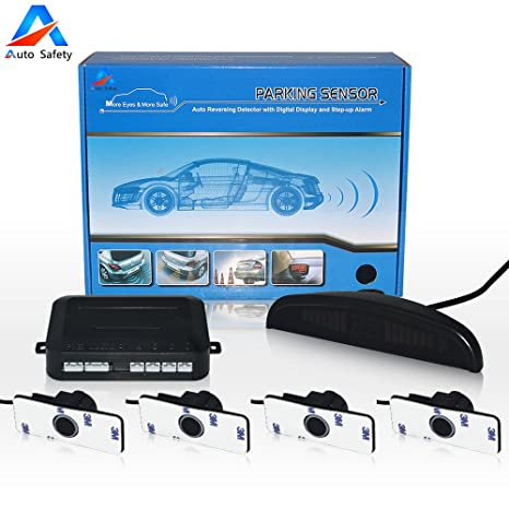 Auto Safety Sensor Aparcamiento Car Original Copia De Seguridad Radar Sistema Indicador LUZ LED Sonido De