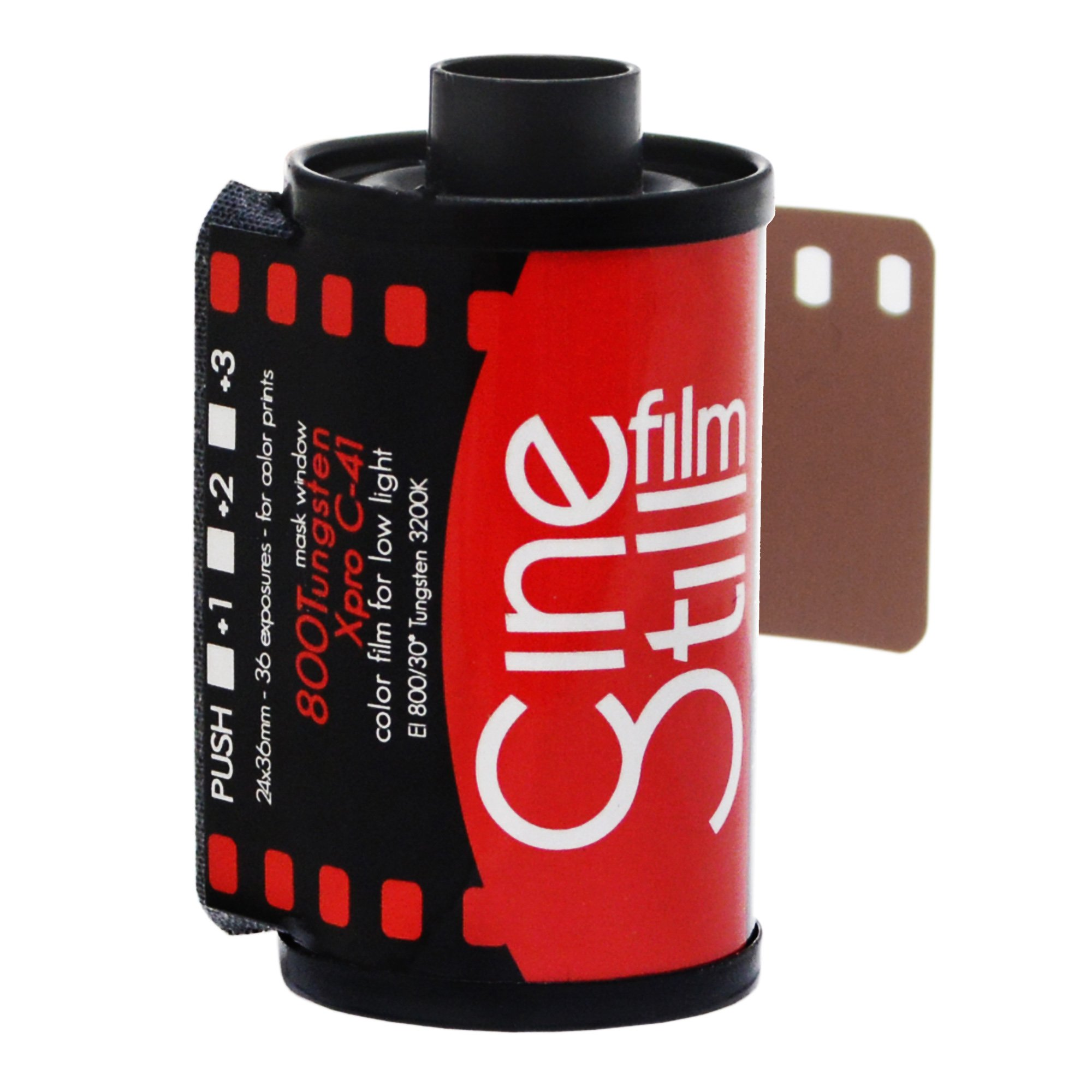 CineStill Film 800135 800 Tungsten High Speed (ISO 800) Color Film, 36 Exposures 135 DX Coded by CINE