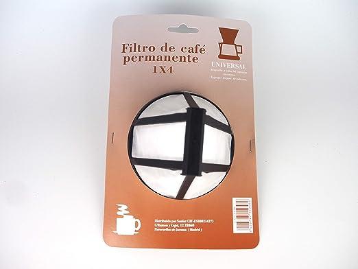 Gaviota 15046 Filtro Permanente para Cafetera tradicional ...