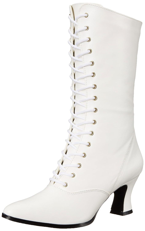 Blanc (blanc) Pleaser Vic120 B Pu, Bottes Femme