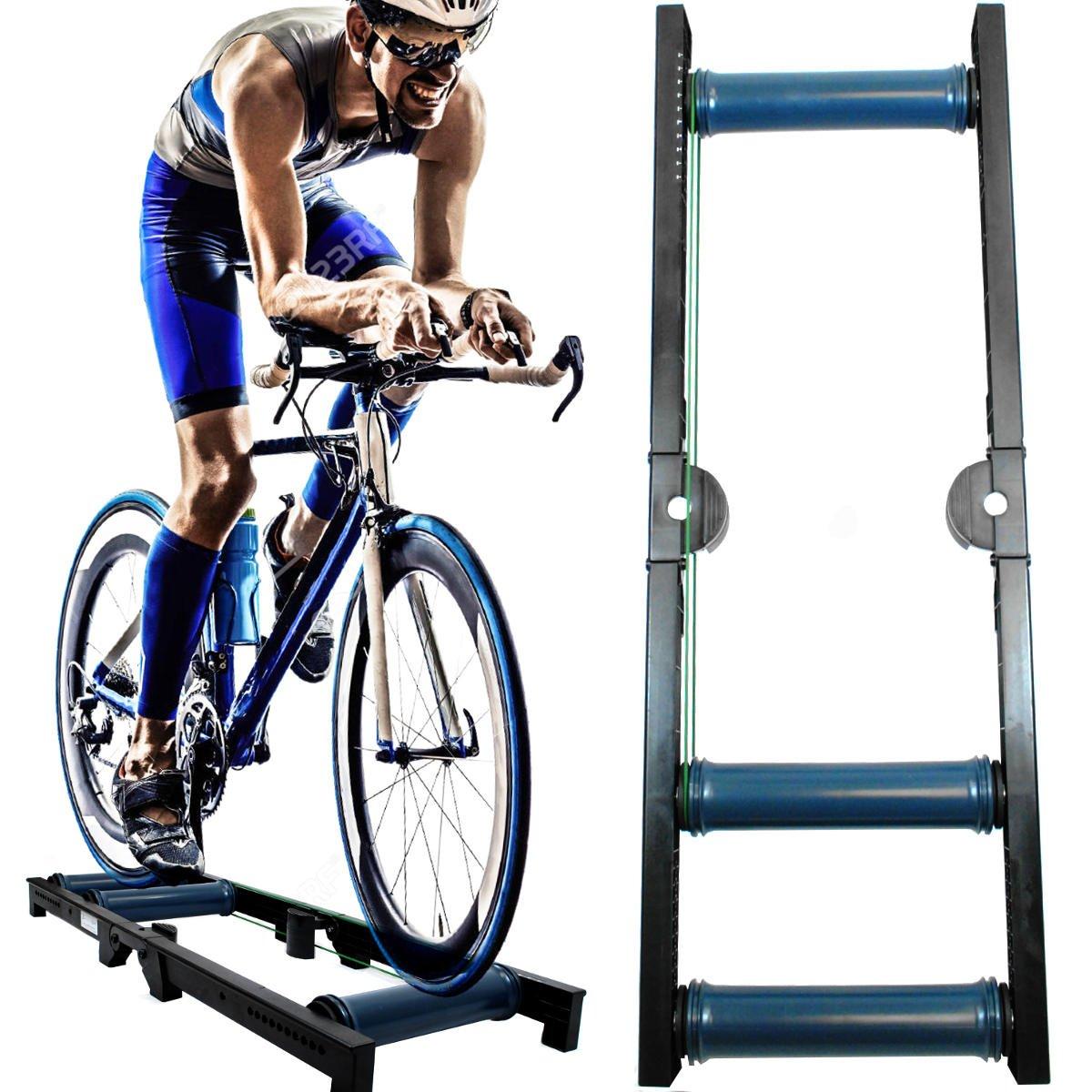 New AccelaVelo Roller Pro-X-Trainer Indoor Bike Trainer
