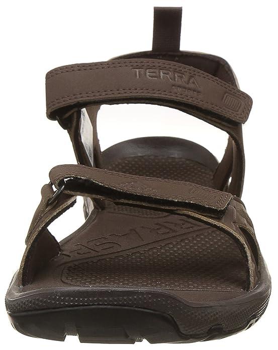 0c8320ca35dc2 Adidas Men s Terra Sports17 Brown Cblack Sandals - 7 UK India (40.67 EU)   Buy Online at Low Prices in India - Amazon.in
