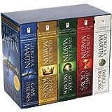 冰与火之歌 英文原版小说 英文版 权力的游戏1-5全集美版盒装 A Song of Ice and Fire 英文原版书 列王的纷争 冰雨的风暴 [平装] [Jan 01, 2012] George R. R. Martin