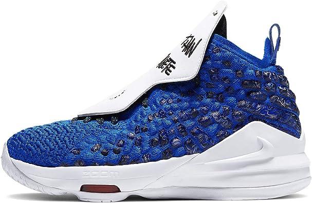 Amazon.com | Nike Lebron Xvii Mtaa Gs Big Kids Cu4113-400 ...
