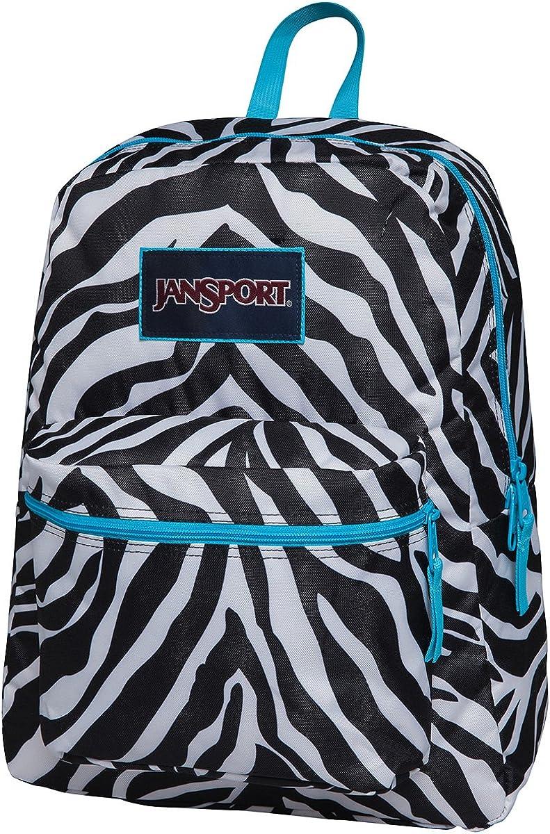 Jansport Overexposed Miss Zebra Mammoth Blue T08W0CX