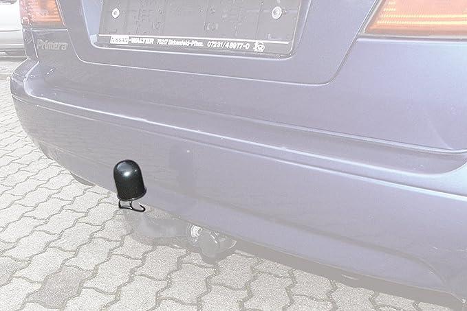 Hr Imotion Abdeckkappe Für Die Anhängerkupplung Inkl Sicherungsring Witterungsbeständig Waschanlagensicher 12410501 Auto