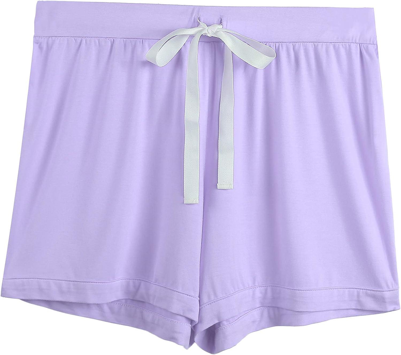Amorbella Womens Soft Bamboo Pajama Sets Button Down Short Sleeve Pjs Sleepwear