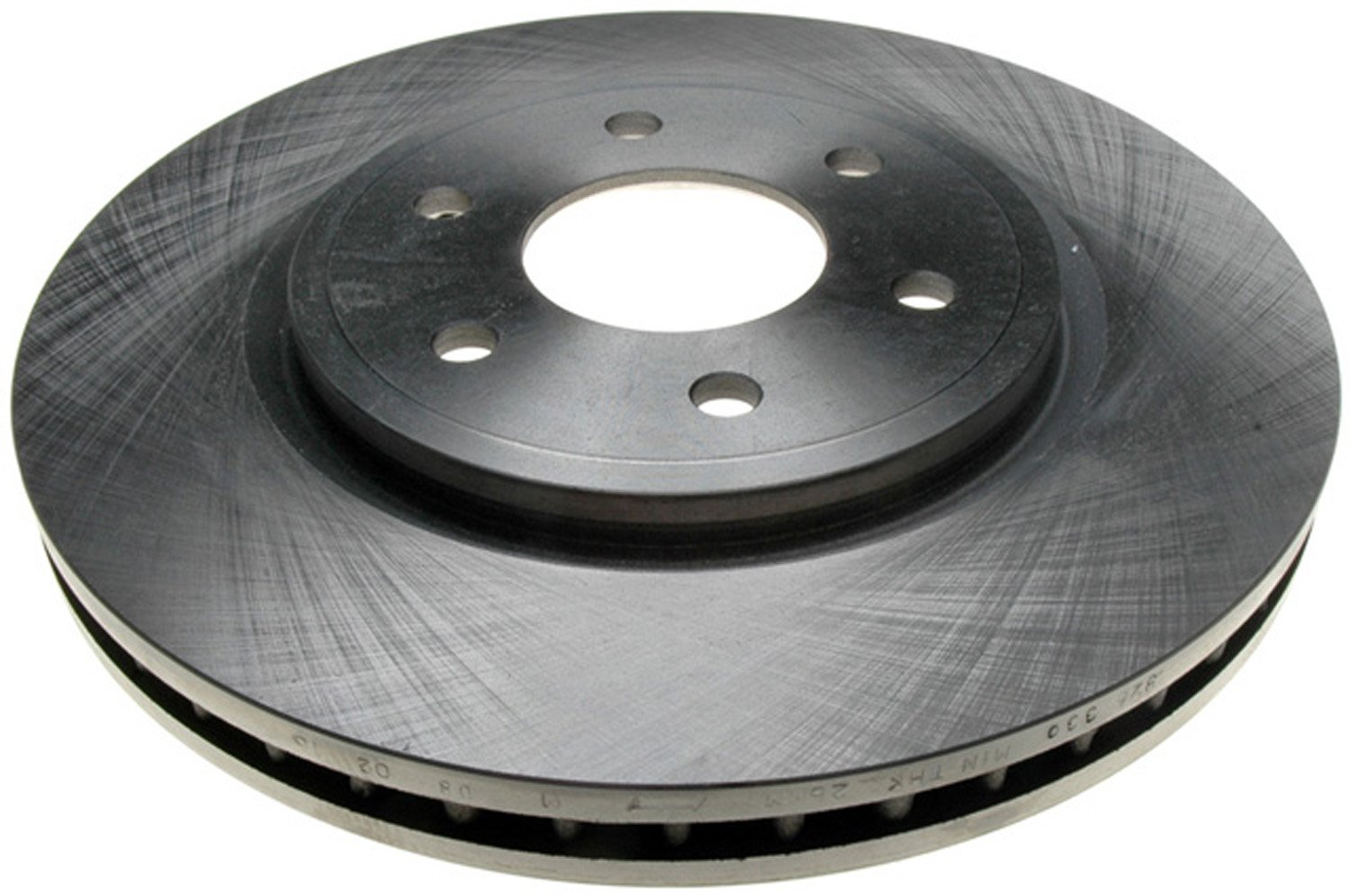 ACDelco 18A2434A Advantage Non-Coated Front Disc Brake Rotor by ACDelco