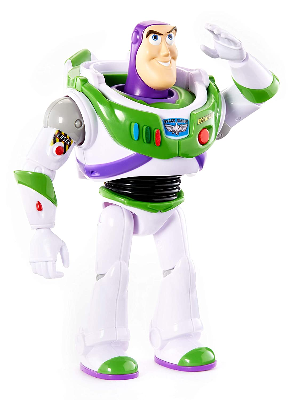 Muñeco Mattel Toy Story Buzz Lightyear con voz y sonidos por 19,99€ ¡¡20% de descuento!!
