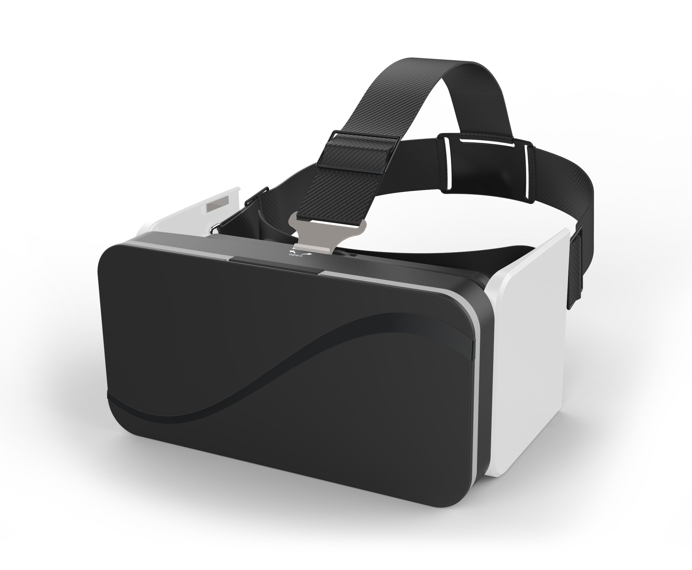 GenBasic Compact Folding Virtual Reality VR Headset - Light 3D Viewer for Android Cardboard and iPhone VR