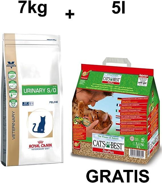 Royal CANIN urinary S/o LP 34 7 kg + GRATIS Cat s Best ...