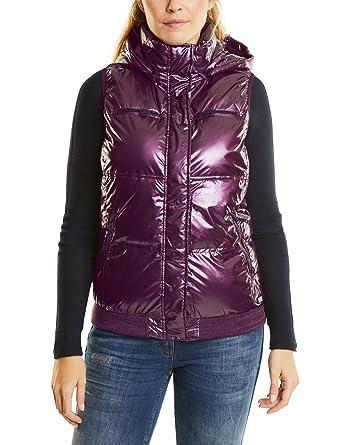 12049b9a3e7b66 Cecil Damen Outdoor Weste 220064, Violett (Dark Berry Metallic 10975), Small